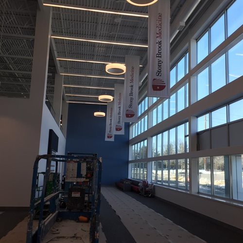 CEILING HANGING BANNERS COMMACK