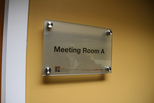 name plates exam rooms