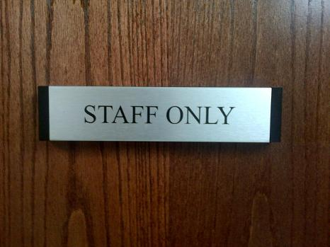 Name Plates - Exam Rooms